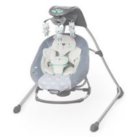 Ingenuity™ InLighten Cradling Swing & Rocker™ – Twinkle Twinkle Teddy Bear™