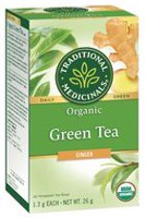 Traditional Medicinals Green Tea with Ginger