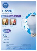 GE reveal® 72 Watts 4 Bulbs Pack - 100 Watt Replacement
