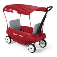 Radio Flyer Deluxe Family Wagon