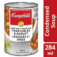 Campbell's Condensed Beef with Vegetables & Barley Soup