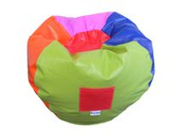 Boscoman Vinyl Teen Round Bean bag Chair