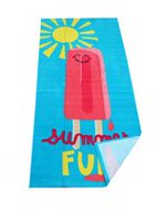 Mainstays Kids Popsicle Printed Beach Towel