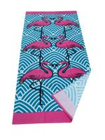 Mainstays Flamingo Printed Beach Towel