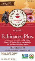 Echinacea Plus® baies de sureau biologique Traditional Medicinals