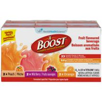 BOOST® Fruit Flavoured Formulated Liquid Diet Drink - Variety Pack