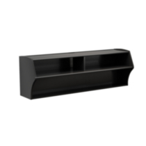 Altus Wall Mounted Audio/Video Console Black