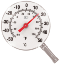 "BIOS 6"" Dial Thermometer"