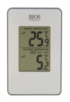 Bios Wireless in/out Thermometer