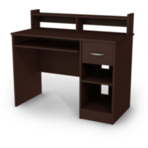 South Shore Smart Basics Desk Chocolate