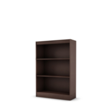 Étagère à 3 tablettes collection Smart Basics de Meubles South Shore Chocolat