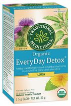 Detox Quotidienne au citron biologique Traditional Medicinals