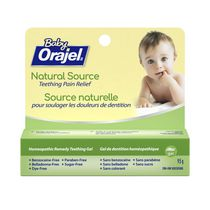 Orajel® Baby Natural Source Homeopathic Teething Pain Relief Gel