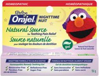 Gel de dentition de source naturelle Formule de nuit Baby OrajelMC