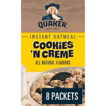 Quaker Cookies 'n Creme Instant Oatmeal