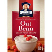 Quaker Oats All Natural Oat Bran Creamy Hot Cereal