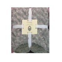 George baby Polyester Hooded Blanket Grey