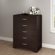 South Shore SoHo Collection 5-Drawer Chest Dark Brown