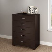 South Shore SoHo 5-Drawer Chest Dark Brown
