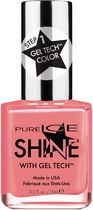 Vernis à ongles Shine with Gel TechMC de Pure Ice Lions Roarrange