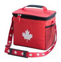Canada Day 9 Can Foldable Cooler Bag