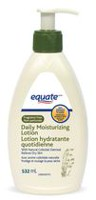 Equate Fragrance Free Daily Moisturizing Lotion