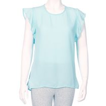 George Women's Crepe Blouse Turquoise L/G
