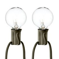 hometrends Clear Bulb String Light Set