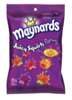Bonbons aux baies Juicy Squirts de Maynards