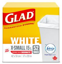Glad® Roomate® Easy-Tie® Kitchen Catchers® Garbage Bags with Febreze™ Freshness