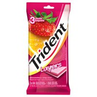 Trident Layers Wild Strawberry & Tangy Citrus Gum