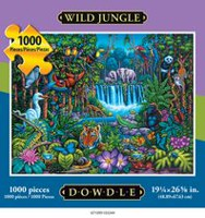 Americana Art Wild Jungle Jigsaw Puzzle