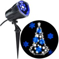 Gemmy Industries LightShow Projection Plus Whirl-a-Motion Snowflakes
