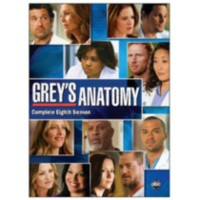 Série téléviseur Grey's Anatomy: The Complete Eighth Season