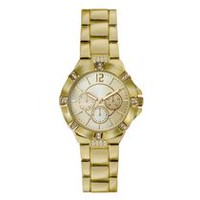 Fashion Watches Women's Gold Tone Watch with Glitz Details
