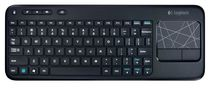 Logitech Living Room Wireless Keyboard K410 - Black