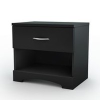 South Shore SoHo Collection Night Stand Black