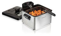 Hamilton Beach Double Basket Deep Fryer