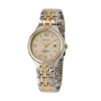 George Men's two-tone bracelet watch