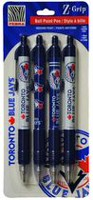 Zebra Blue Jays Z-Grip Retractable Ball Point Pen - Assorted Colours
