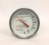 AccuChef stainless steel meat and poultry thermometer