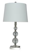 "Home Trends 23"" Stacked Ball Table Lamp"