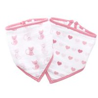 ideal baby by the makers of aden + anais Kitty and Love Bandana Bibs
