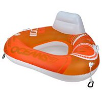 Oceans 7 Triangle River Sun Series Wedge Water Tube Orange