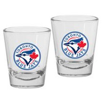 Toronto Blue Jays 1.5oz Round Shot Glass Set