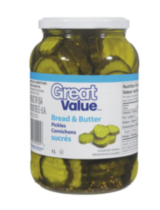 Great Value Bread & Butter Pickles