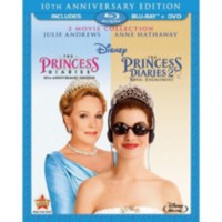 The Princess Diaries: 10th Anniversary Edition / The Princess Diaries 2: Royal Engagement (3-Disc) (Blu-ray + 2-Disc DVD)