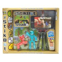 Stikbot Pets Studio Action Figures