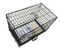 Cool Runners Wire Crate & Mat