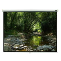 "EluneVision Triton Manual Pull-Down Projector Screen - 84"" - 16:9"